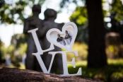 Фоторамка деревянная «LOVE»