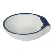 Блюдо керамическое глубокое «Ракушка»