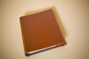 Ежедневник не датированный, бордовый, А5, Editor